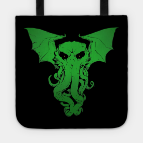Lord Cthulhu the Great Old One- A shirt of Cosmic Horror Tote 12e8b650e0eed