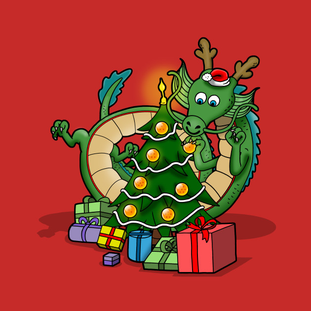 Christmas Dragon Balls T-Shirt