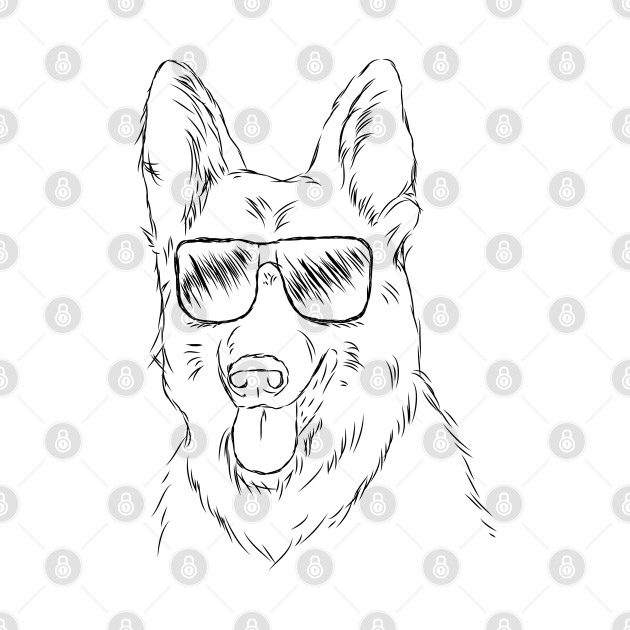 Cool German Shepherd