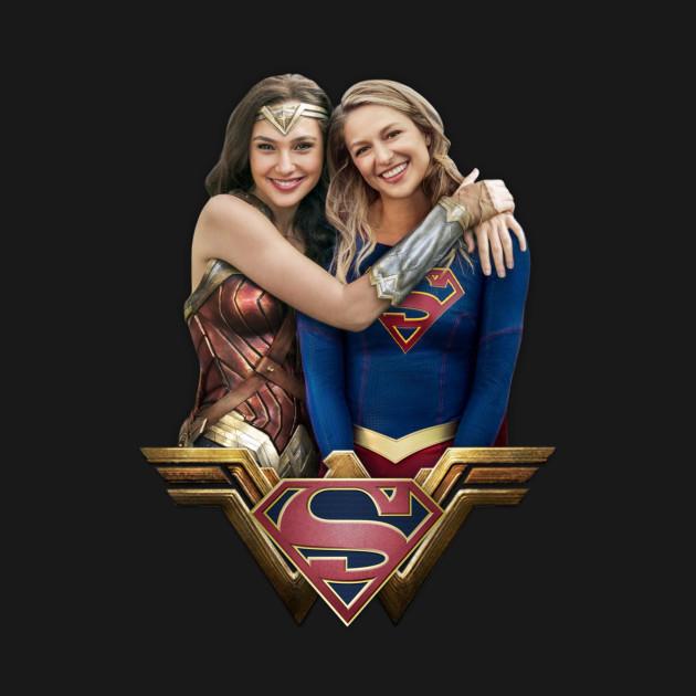 Wonder Woman And Supergirl Wonderwoman T Shirt Teepublic