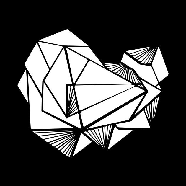 Geometric triangles White minimal