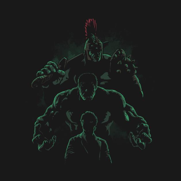 Bruce Banner Evolution