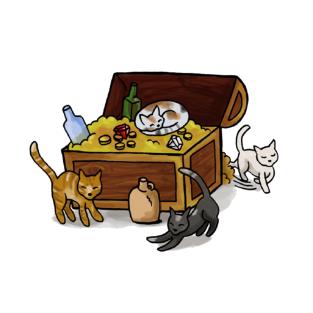 A Treasure Trove of Cats! t-shirts