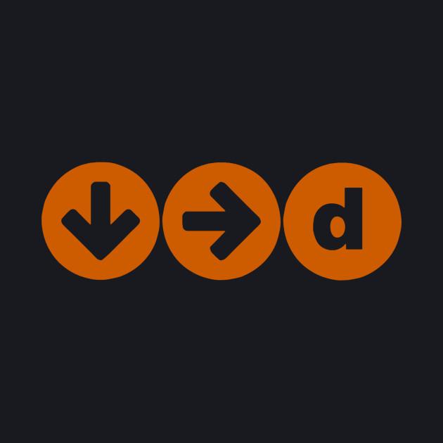 official downrightdick logo