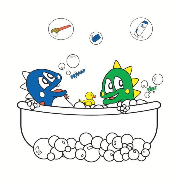 Bubble Dragon Bath