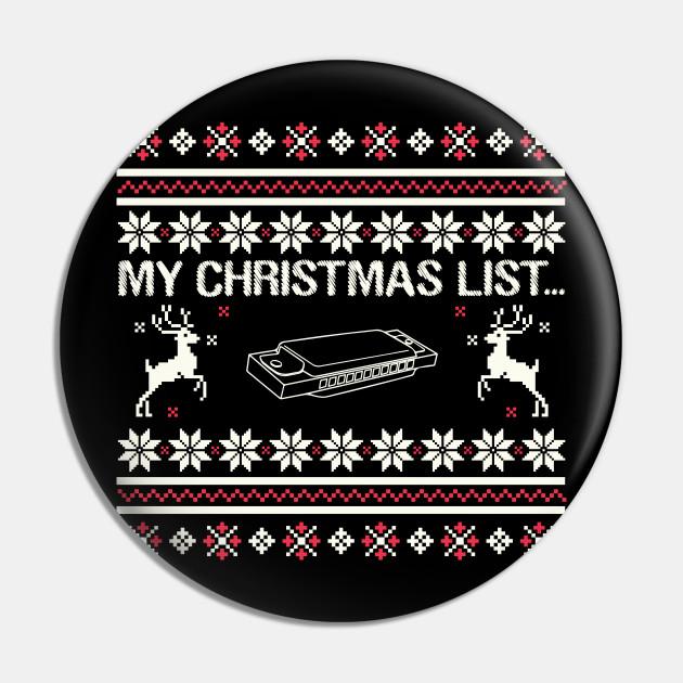 My Christmas List Harmonica Instrument