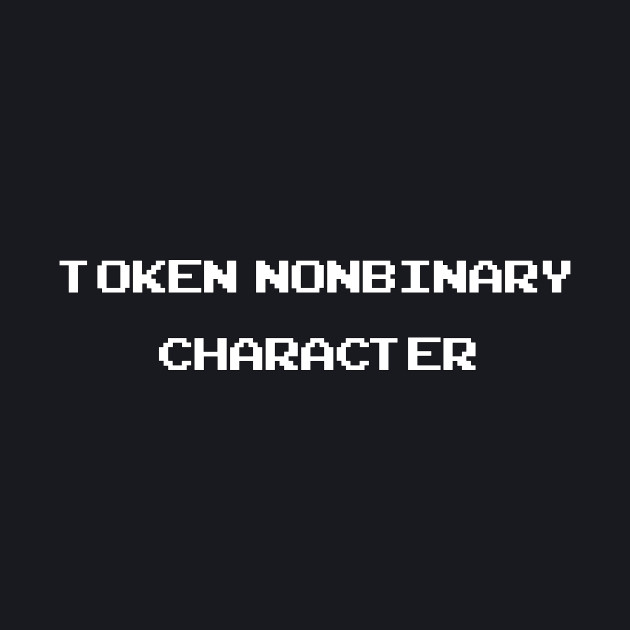 TOKEN NONBINARY CHARACTER - DIVERSITY SERIES