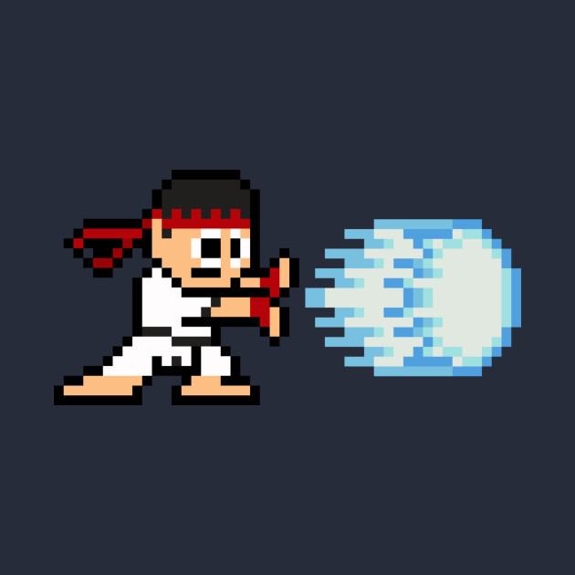8-Bit Hadouken Ryu