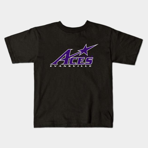 NCAA Evansville Purple Aces T-Shirt V1