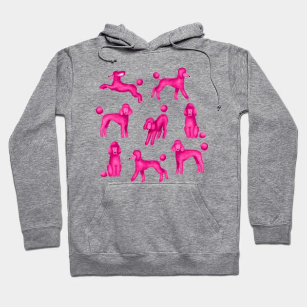In Prink Poodle Lover Tee Shirt Hoodie Cool Sweatshirt
