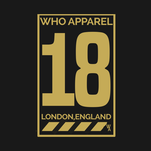 WHO Apparel '18 (Gold)