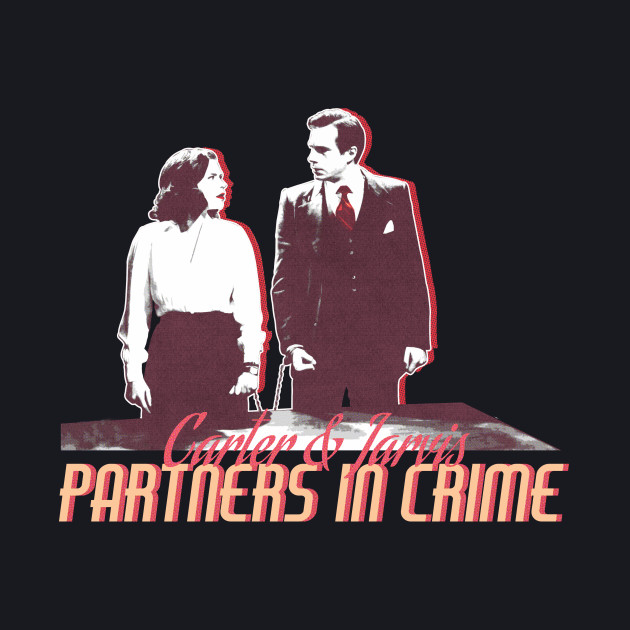 Peggy Carter & Edwin Jarvis