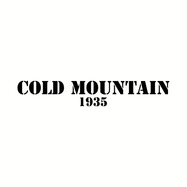 Cold Mountain 1935