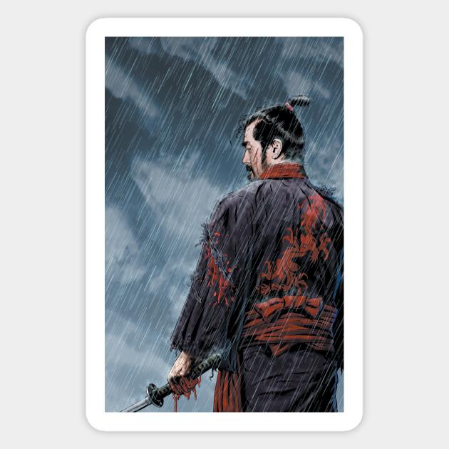 Assassin Samurai Clear Sticker