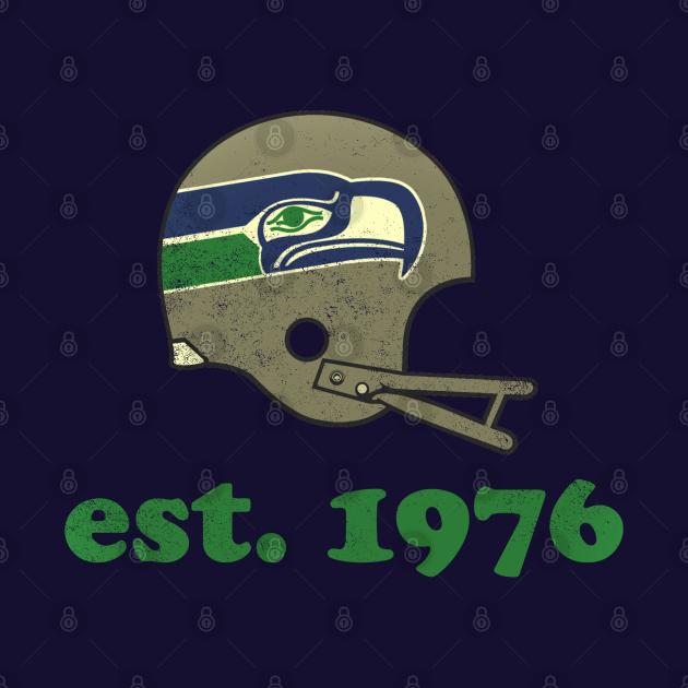 Seahawks est. 1976 [Vintage Distressed]