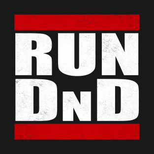 Run D&D t-shirts