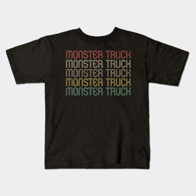 Retro Style Monster Truck Design