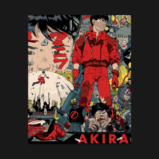 Akira t-shirts