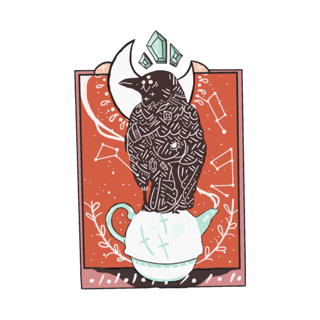 tea time with mr. crow
