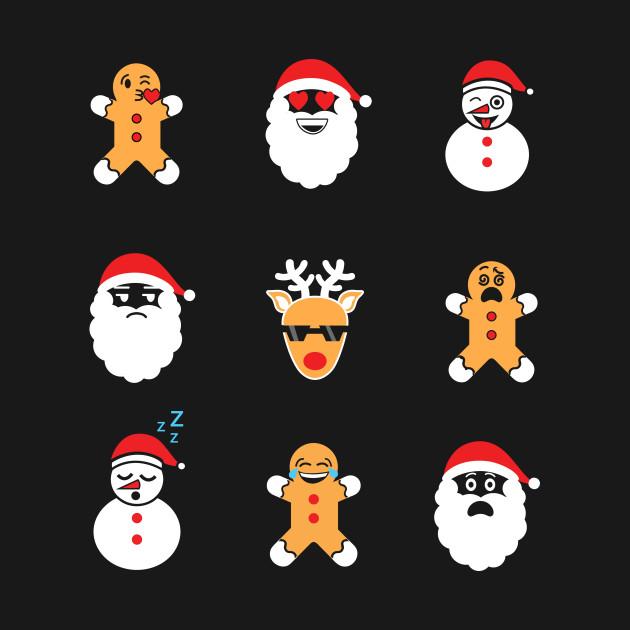 2028988 0 - Christmas Smiley Faces