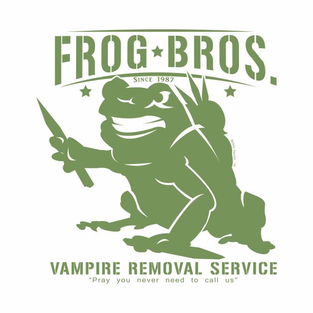 Frog Bros Vampire Removal  (dark tees)