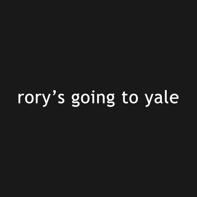 rory's going to yale