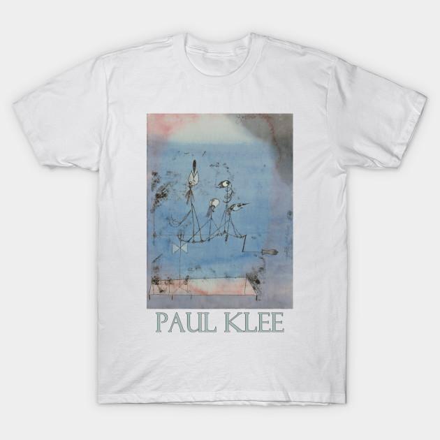 Twittering Machine >> Twittering Machine 1922 By Paul Klee Abstract T Shirt Teepublic