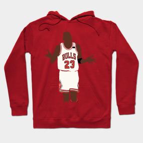 Michael Jordan Shoulder Shrug Hoodie b676127562e0