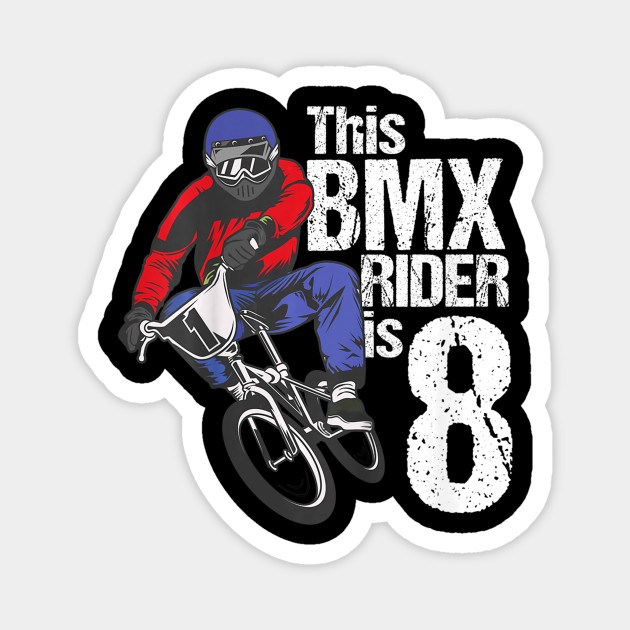 Kids 8 Year Old BMX Birthday Party Boys