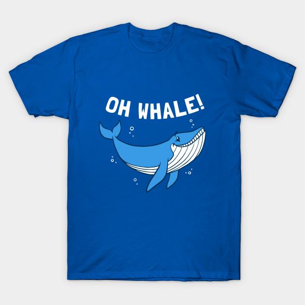 5fb8c81a0 Oh Whale - Whale - T-Shirt