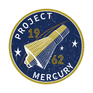 Space Project Mercury t-shirts