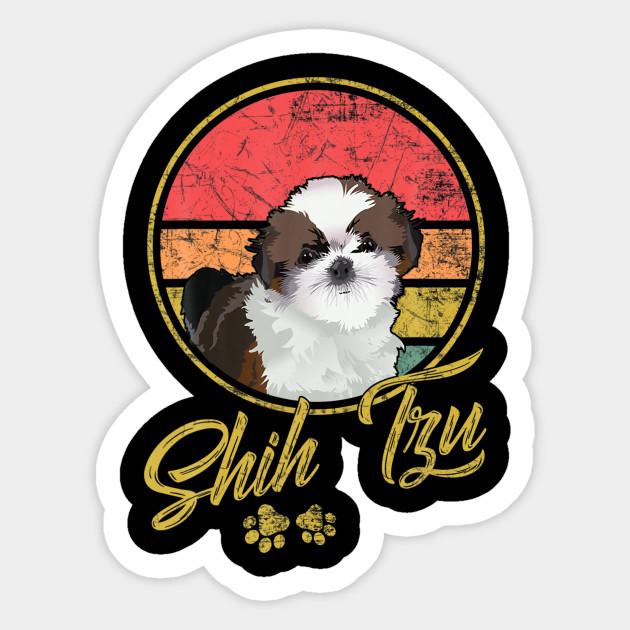 Vintage Shih Tzu Gift For Dog Lovers