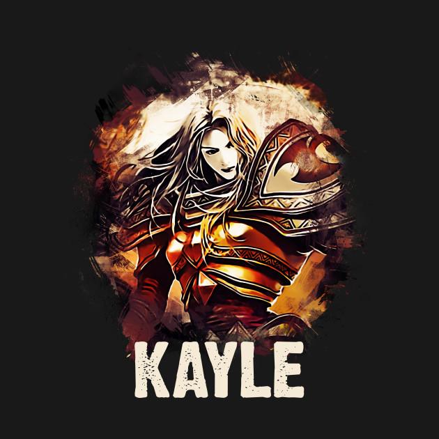 league of legends kayle league of legends t shirt teepublic