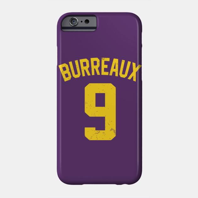 Joe Burrow Shirt Joe Burrow For Heisman Burreaux 9 Vintage TShirt Louisiana Fans Football Gift Phone Case