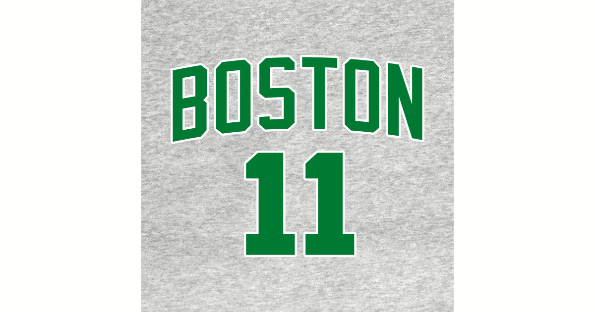 quality design 15456 cafef Kyrie Irving Boston Jersey by tarekmarzouki