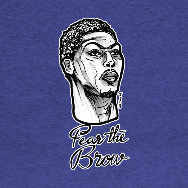 Anthony Davis Fear the Brow