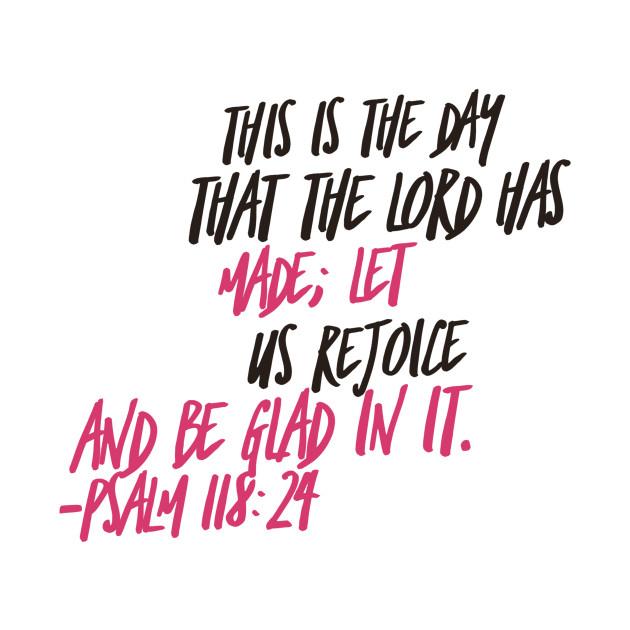 Bible Verse Psalm 118:24