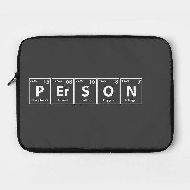 Person (P-Er-S-O-N) Periodic Elements Spelling