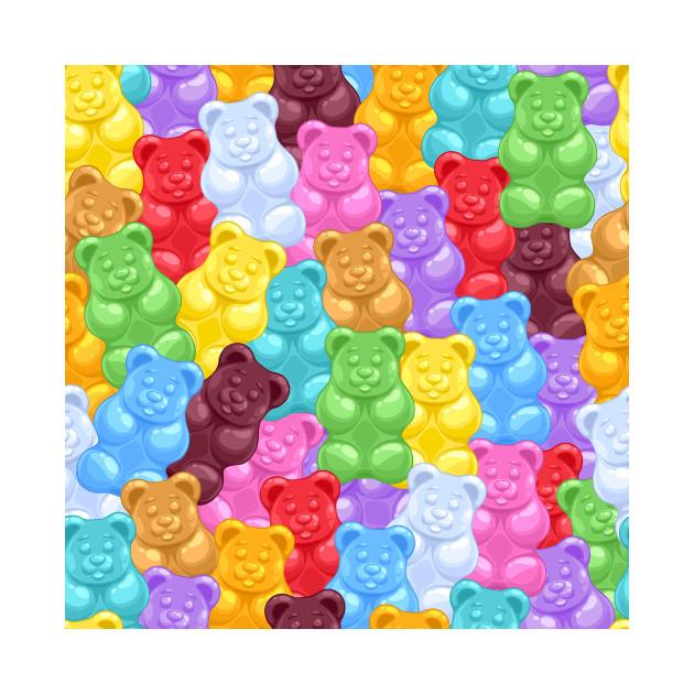 Rainbow Gummy Bear Candy