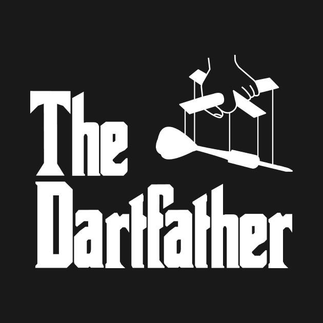 Darts Player Dartsfather Dartfather Pub Team Club Funny Gift