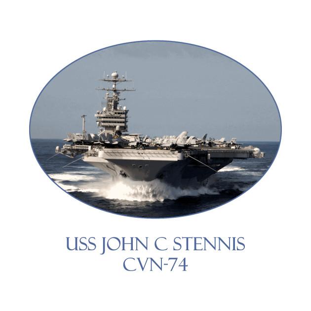 USS John C Stennis  CVN-74