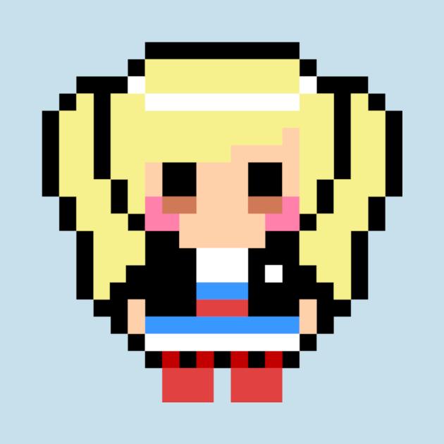 Persona 5 Ann Takamaki 8-Bit Pixel Art Character