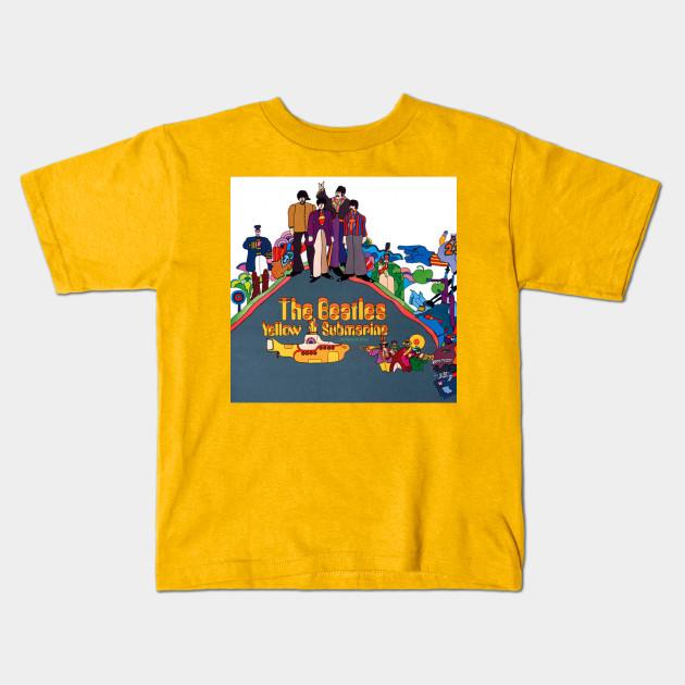 41fbd78b3 Yellow Submarine (Beatles) - Yellow Sub - Camiseta Para Niños ...