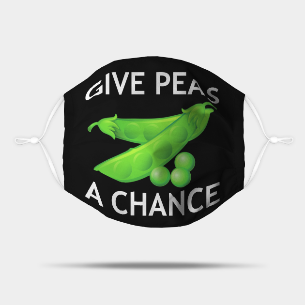 Give Peas A Chance Earth Day World Peas/Peace