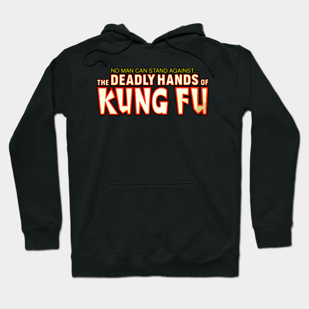 No Man Can Escape The Deadly Hands of Kung-Fu Logo Shirt