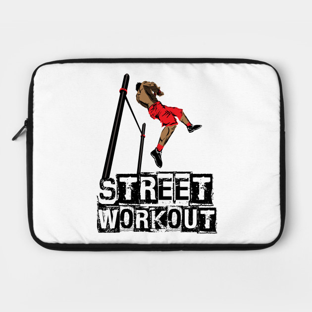 043c94db Street Workout- Muscle up-C - Freestyle Calisthenics - Laptop Case ...