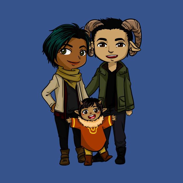 Saga - Alana, Marko and Hazel