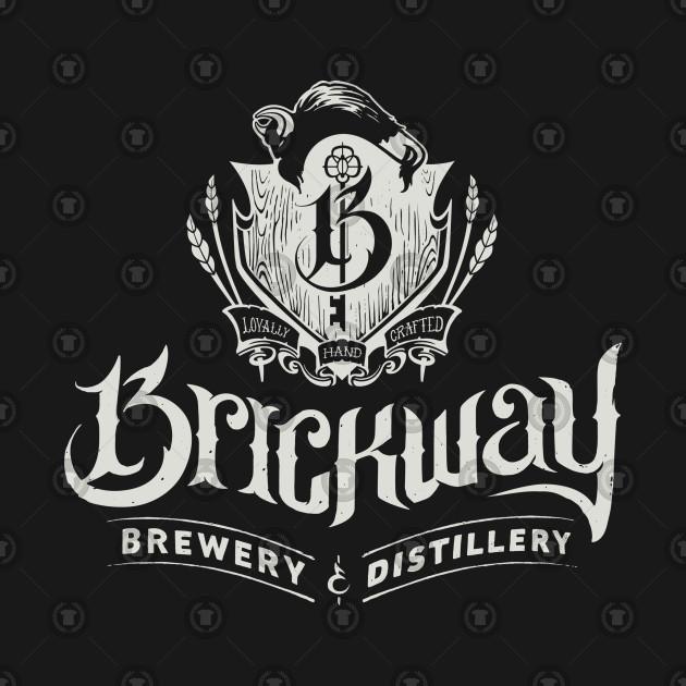 6c7f19d9 Brickway Brewery - Brickway Brewery - T-Shirt | TeePublic
