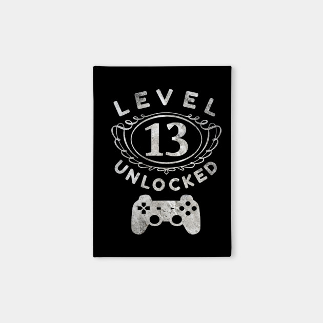 Level 13 Unlocked Tshirt 13th Video Gamer Birthday Boy Gifts