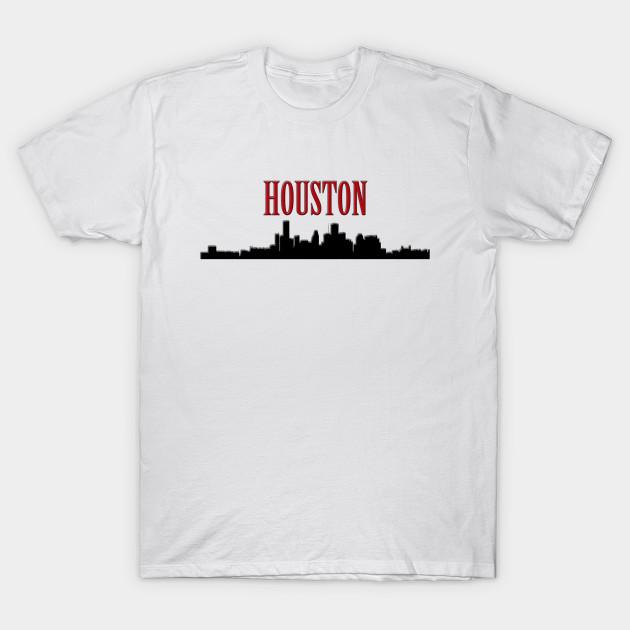 4971ab1f Houston Silhouette - Houston - T-Shirt | TeePublic